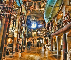 Central Court of Mercer Museum
